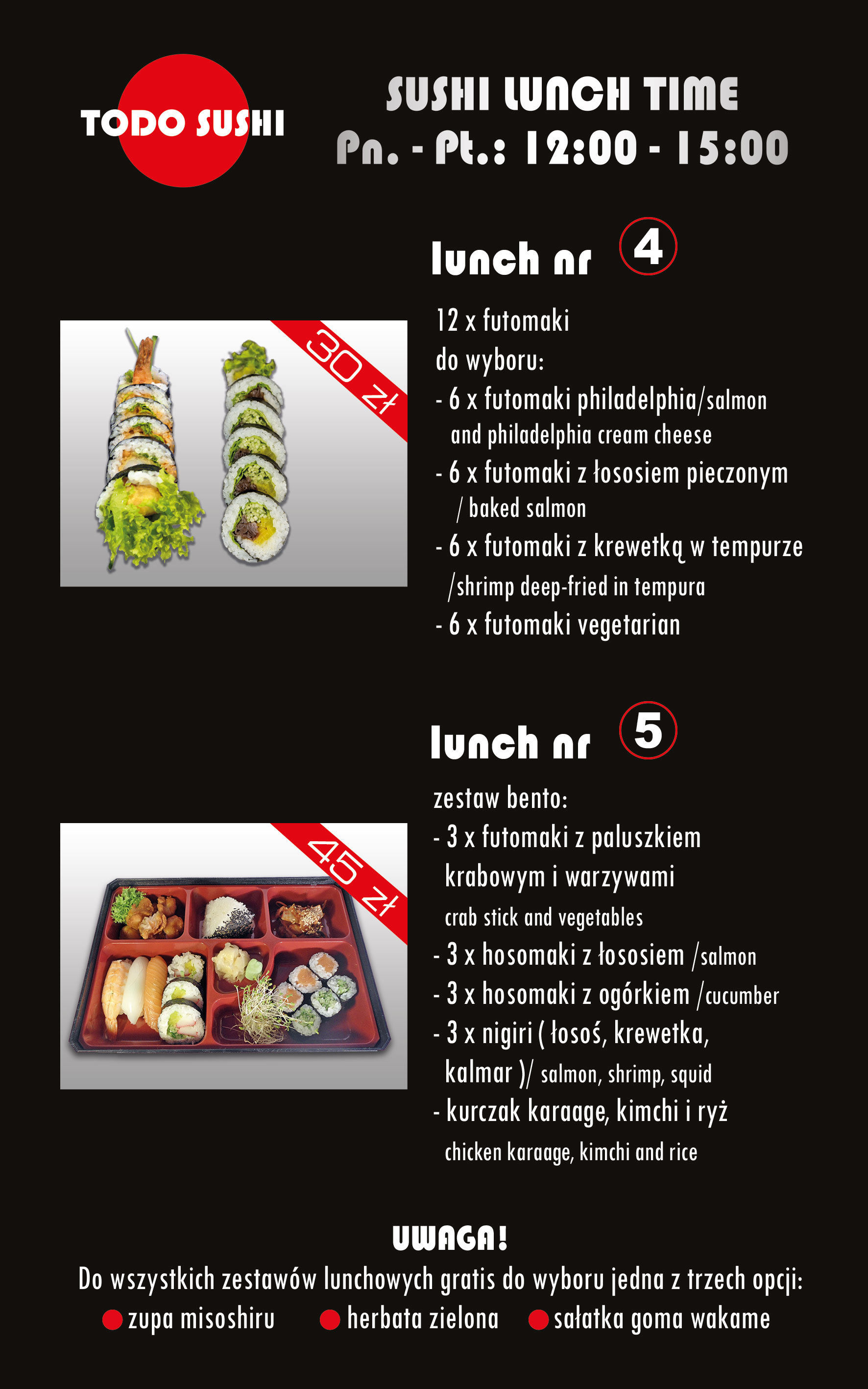 Todo Sushi Lunch